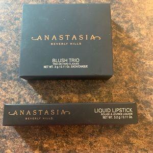 Anastasia of Beverly Hills Blush and Lipstick